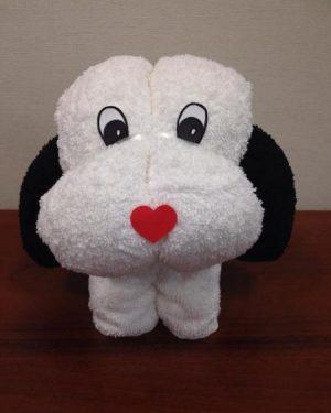 darčekova sada uterakov psik dunaj biely čierny