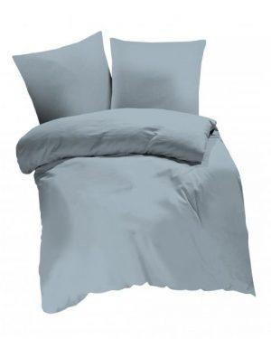 Bavlnené obliečky jednofarebné Silver
