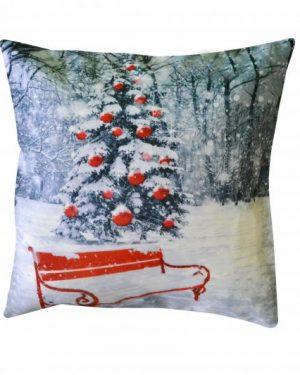 vianočne dekoracne obliečky sneh 40x40