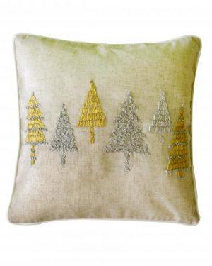 vianočná obliečka stromceky ii ľanová