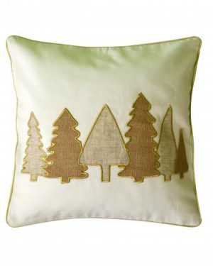 vianočná obliečka stromceky ľanová