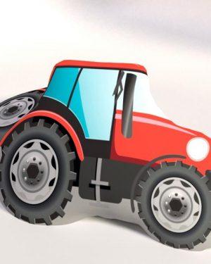 traktor dekoracny vankus