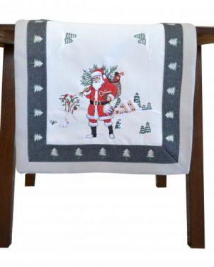 Dekoračná vianočná štóla Santa