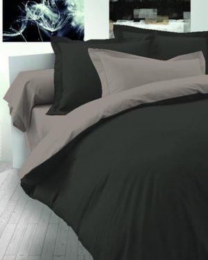 Bavlnené obliečky bežové-hnedé
