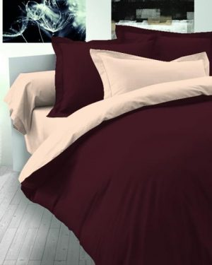 Bavlnené obliečky krémové-hnedé