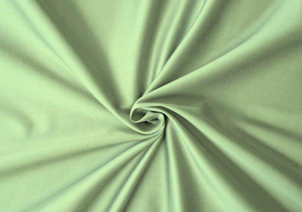 satenove prestieradlo zelene