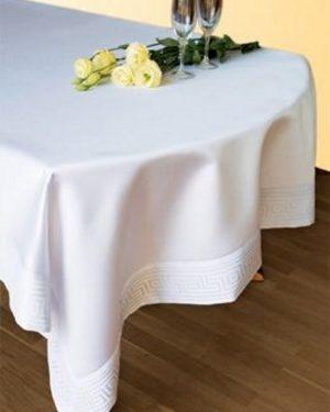 teflonovy obrus greek biely