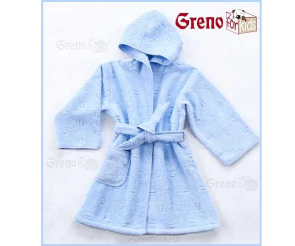 Detský župan froté modrý