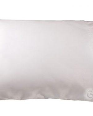 obliecka satenova vankusik jednofarebna biela