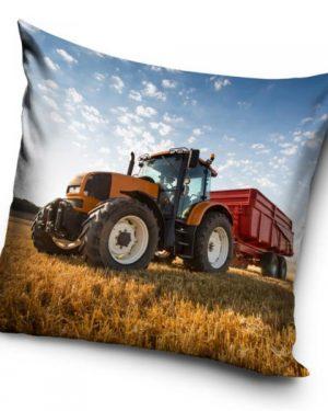 Dekoračný 3D vankúš Traktor