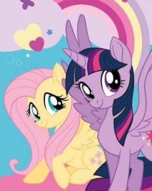 detske uteraky my little pony ii