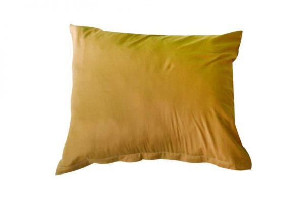 jednofarebne bavlnene obliecky na vankuse 40x50 bezova