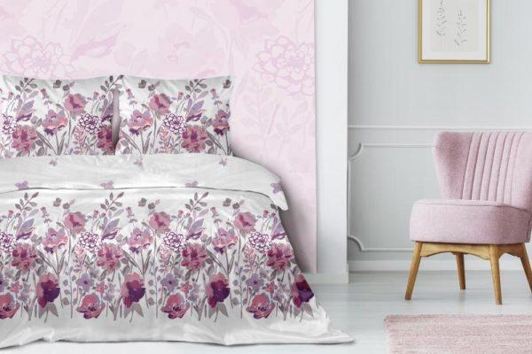 obliecky bavlneny saten rosarium