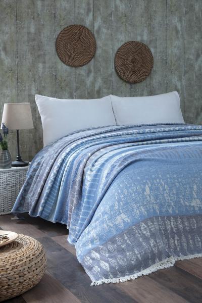 prehozy na postel Modern modre