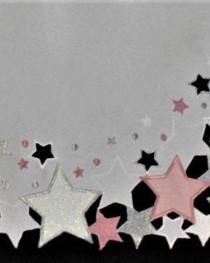 vianočný obrus Hviezda ruzovy