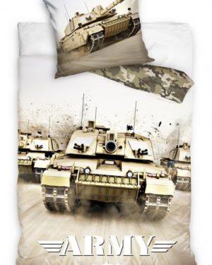 3D obliečky vojensky tank