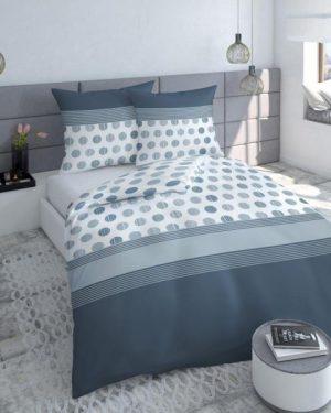 Bavlnené saténové posteľné obliečky Shot