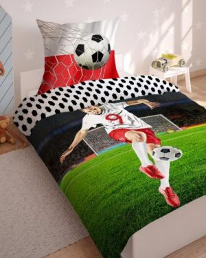 3D obliečky futbal
