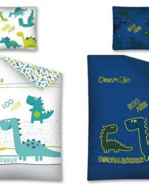 detske svietiace obliecky dinosaurus
