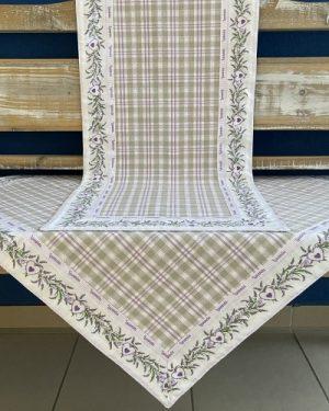 Dekoračná štóla na stôl Zelen