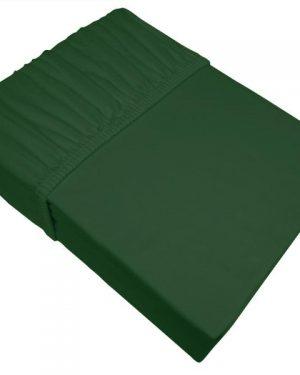 Jersey prestieradlo smaragdové