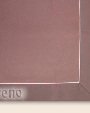 obrus na stol Satinet hnedý