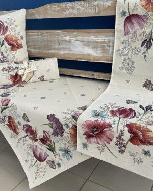 gobelinovy obrus jarne kvety