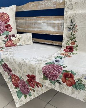 gobelinovy obrus kvety