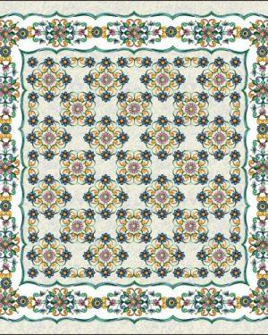 gobelinovy obrus ornament 100x100