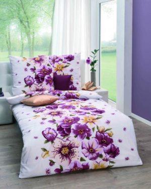 krepove obliecky tiffany fialové
