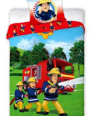 Detské obliečky Požiarnik Sam