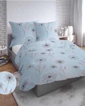 postelna obliecka Dande modrá 140x200