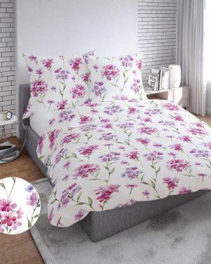 Kvetinové bavlnené obliečky Lass