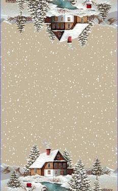 Vianočná štóla Domček